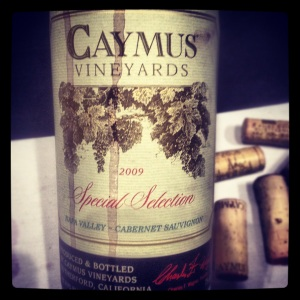 Caymus Vineyards - Special Selction Cabernet Saugivnon 2009