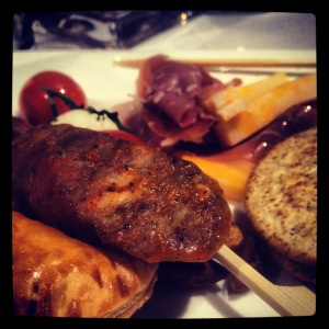 A gourmet assortment of foods at VPIWF