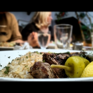 Beef Souvlaki  from Theos in Penticton
