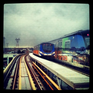 Skytrain HDR on my way to #VPIWF
